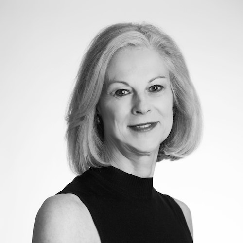 Headshot of Christie Hefner